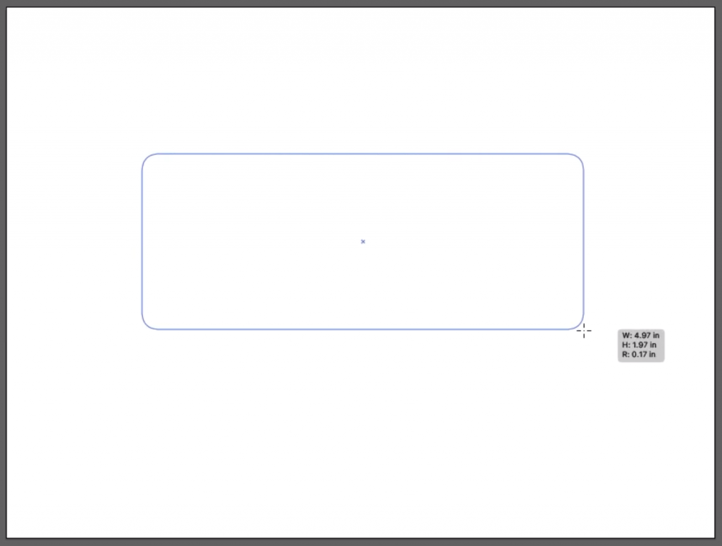 Make a Heart: Draw out a Rounded Rectangle in Illustrator
